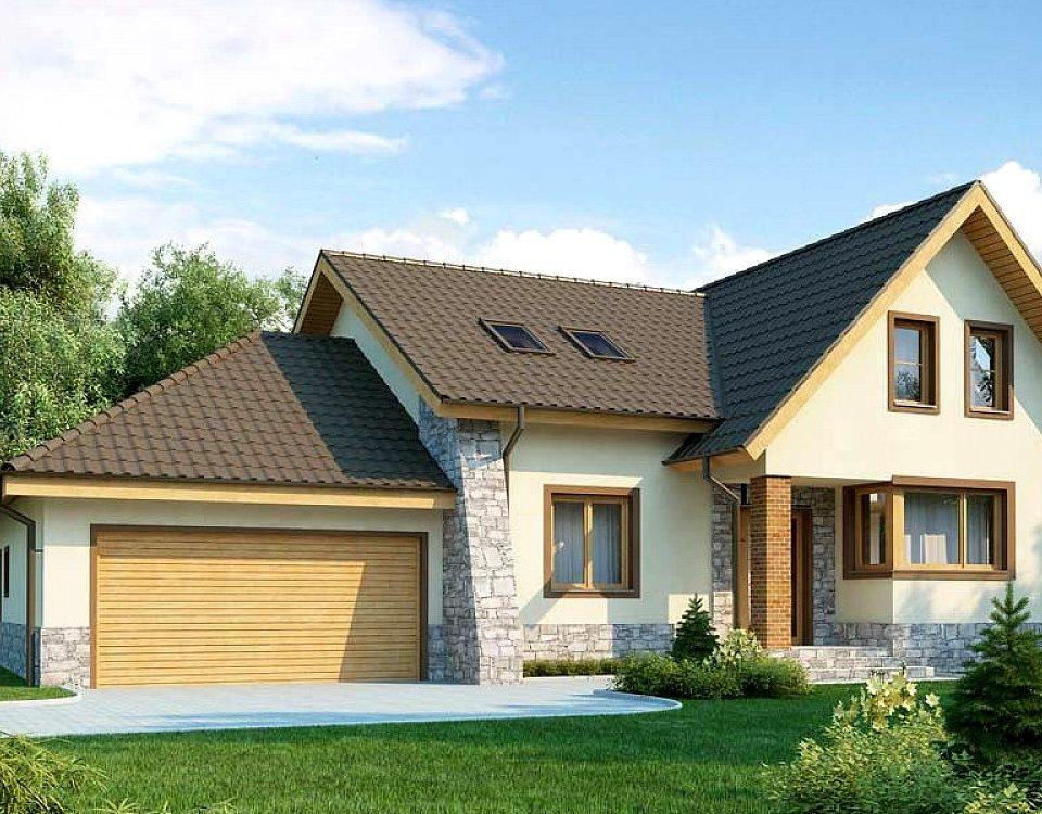 Построить дом с гаражом своими руками 7